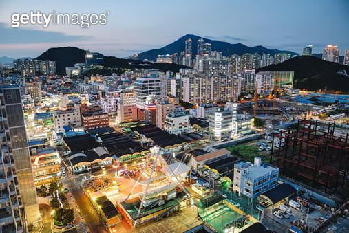 부산 남구 민락동 야경 - gettyimageskorea