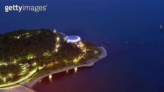 부산 동백섬 누리마루 APEC HOUSE 야경 - gettyimageskorea