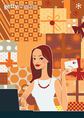Woman Shopping Online - gettyimageskorea