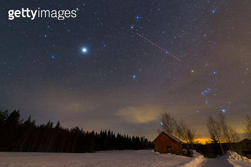 Shed under the stars - gettyimageskorea