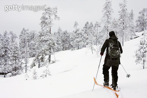 Person skiing - gettyimageskorea