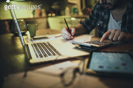 Financial problems - gettyimageskorea