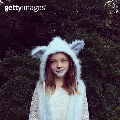 Dressed as a Wolf - gettyimageskorea