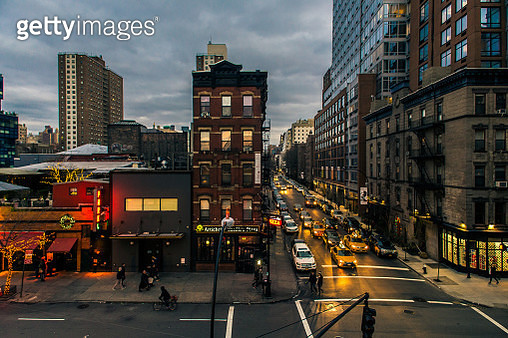New York, seen from the High Line Park - gettyimageskorea