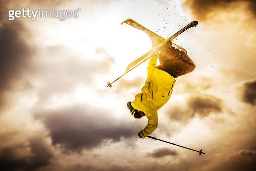 Free Style Skiing - gettyimageskorea
