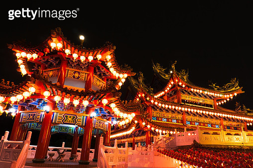 Chinese New Year Lantern Decoration - gettyimageskorea