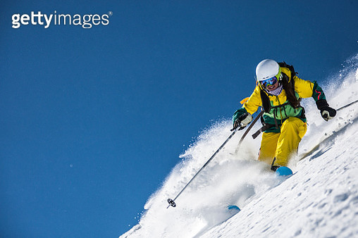 Skiing - gettyimageskorea