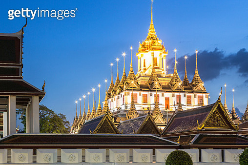 Wat Thepthidaram in Bangkok old town, Thailand capital city - gettyimageskorea