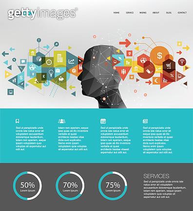 Business website design - gettyimageskorea