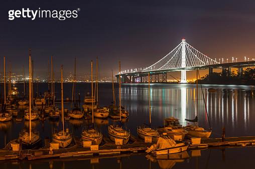 New San Francisco Bay Bridge - gettyimageskorea