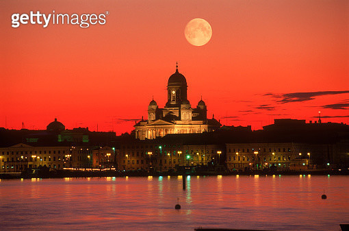Luthern Cathedral dome South Harbour, Helsinki - gettyimageskorea
