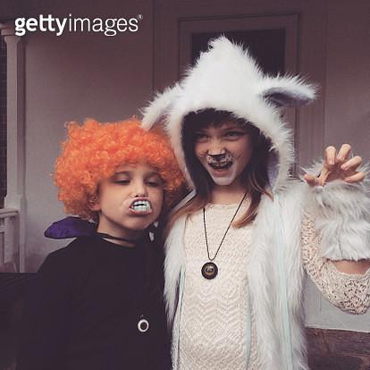 Halloween Costumes - gettyimageskorea