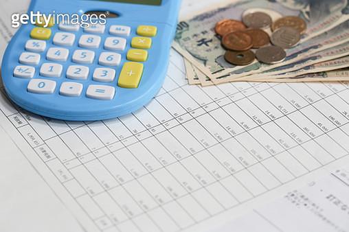 money and calculator - gettyimageskorea