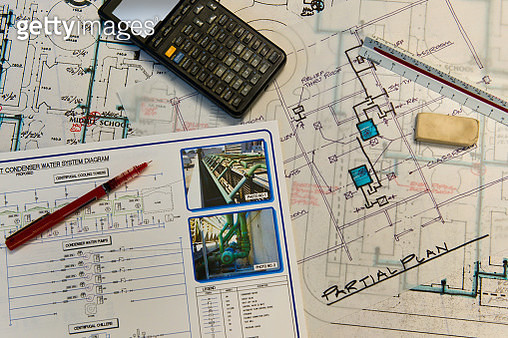 Engineering plans for a school water system - gettyimageskorea