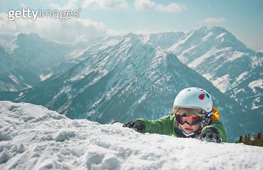 Living on the Edge, Zauchensee ski-region, Austria - gettyimageskorea