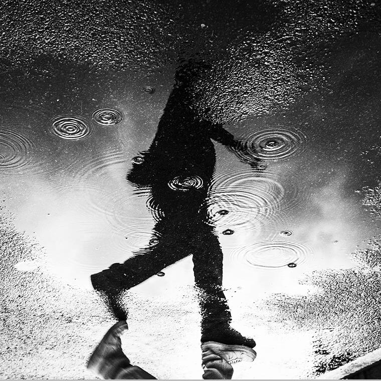 비가 내리고 음악이 흐르면