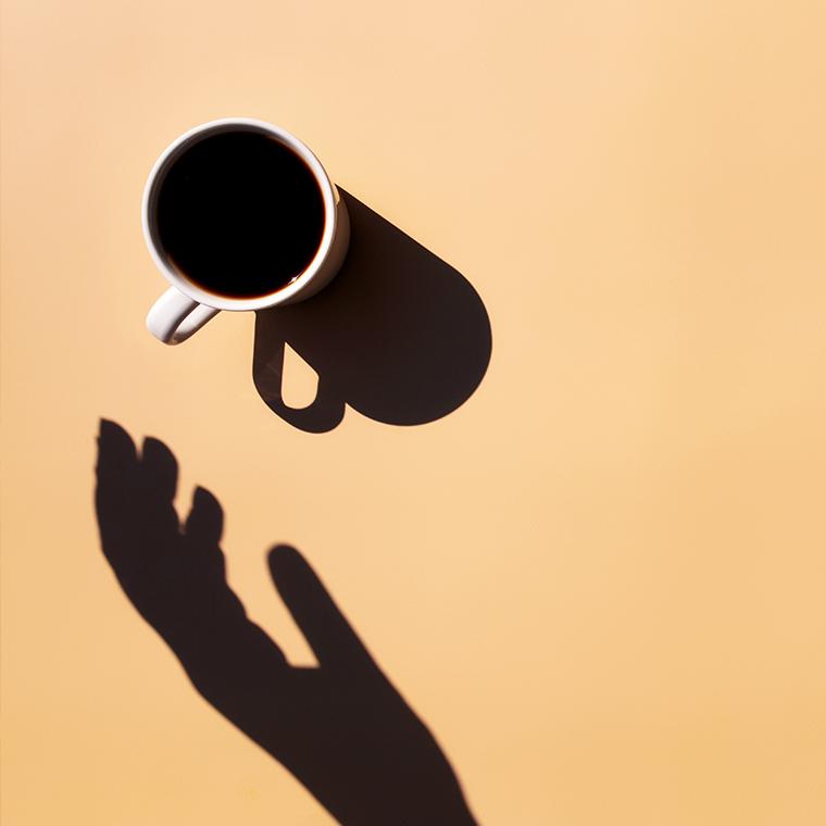 커피 한 잔
