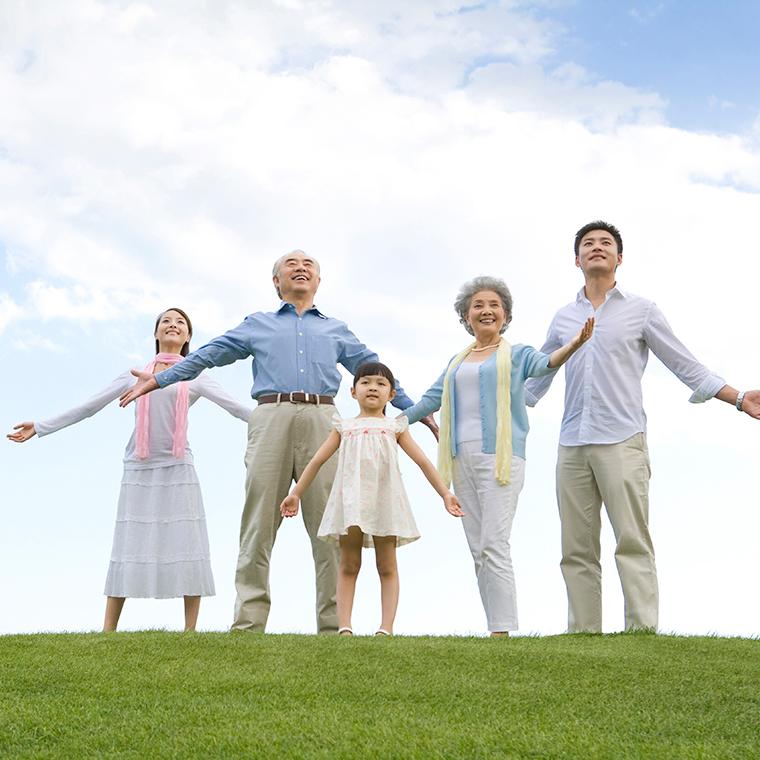 가족 야외 활동