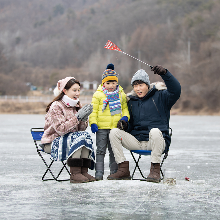 가족 겨울여행