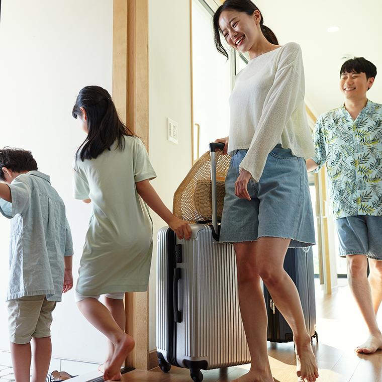 4인 가족여행