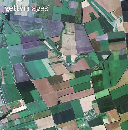 위성사진, 몰도바, 농경지 - gettyimageskorea