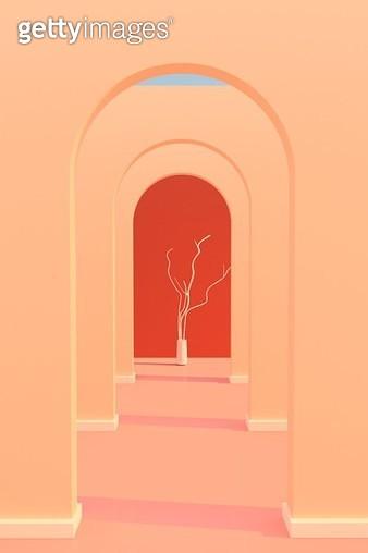 arch corridor_2 - gettyimageskorea
