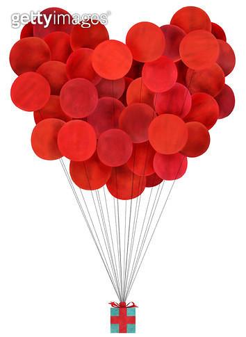 빨간 풍선 - gettyimageskorea