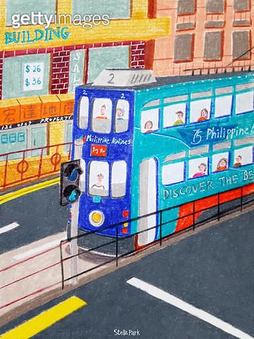 도시의 트램, 트램 - gettyimageskorea