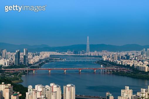 한강, 대한민국 서울특별시 - gettyimageskorea