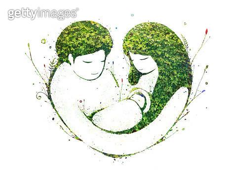 제목 : 사랑 (2013년)<br/>소재 : 디지털일러스트 <br/>작품사이즈 : 45x33cm(㎝)<br/>작품 설명 : 사랑 - gettyimageskorea