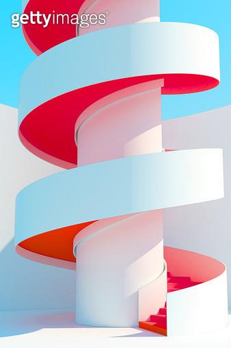나선형 계단 - gettyimageskorea