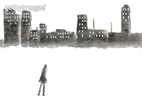 도시와 사람 - gettyimageskorea