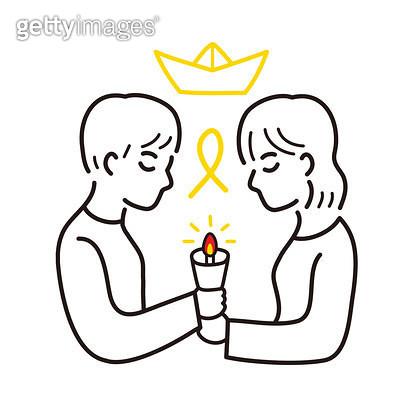 촛불을 들고 있는 사람 - gettyimageskorea