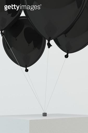 검은 풍선 - gettyimageskorea