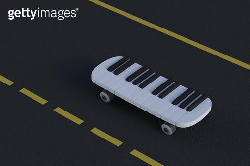 피아노보드 - gettyimageskorea