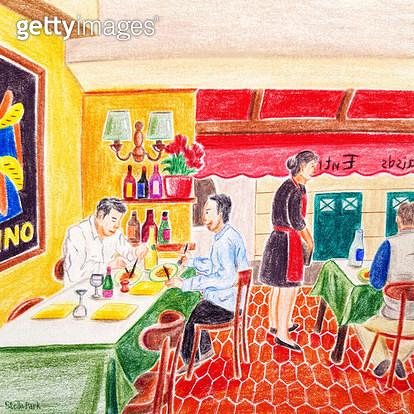 따뜻한 식사, 따뜻한 레스토랑 - gettyimageskorea