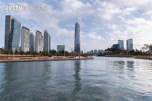 송도 센트럴파크, 인천 연수구 송도신도시 - gettyimageskorea