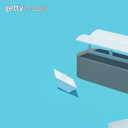 paper boat - gettyimageskorea