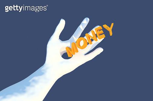 money passes through my hand - gettyimageskorea