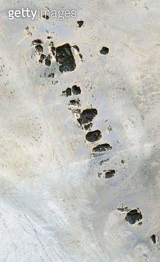 위성사진, 사우디 아라비아, 사막 - gettyimageskorea