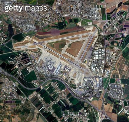 위성사진, 이스라엘, 텔아비브 - gettyimageskorea