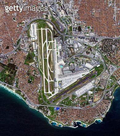 위성사진, 터키, 이스탄불 - gettyimageskorea