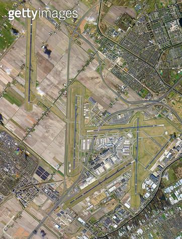 위성사진, 네덜란드, 암스테르담 - gettyimageskorea