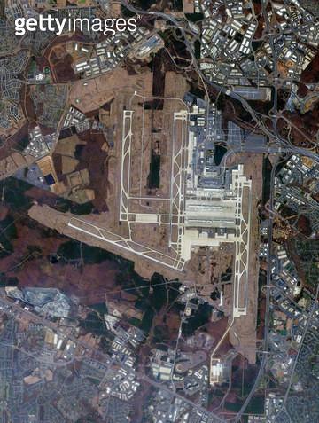 위성사진, 미국, 워싱턴 - gettyimageskorea