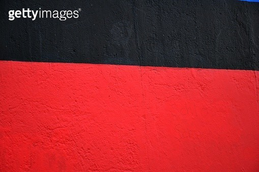 Full Frame Shot Of Concrete Wall With Paint - gettyimageskorea