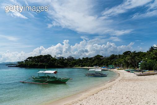 땀비산 비치(Tambisaan Beach), 필리핀 보라카이(Philippines Boracay) - gettyimageskorea