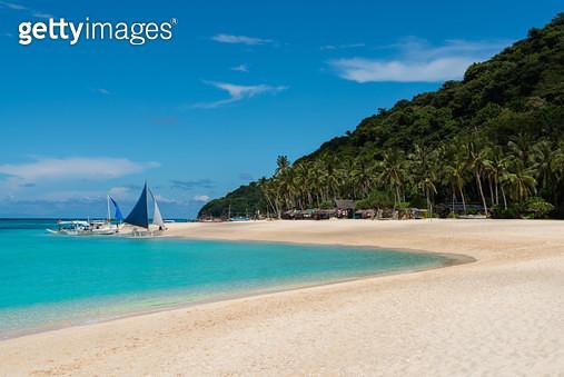 푸카 쉘 비치(Puka Shell Beach), 필리핀 보라카이(Philippines Boracay) - gettyimageskorea