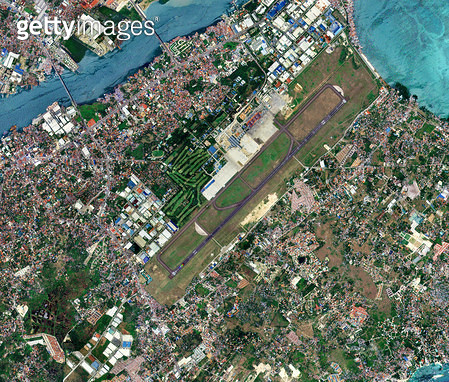 위성사진, 필리핀, 세부 - gettyimageskorea