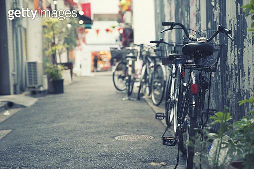 일본 골목길 - gettyimageskorea