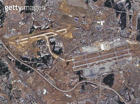 위성사진, 러시아, 모스크바 - gettyimageskorea